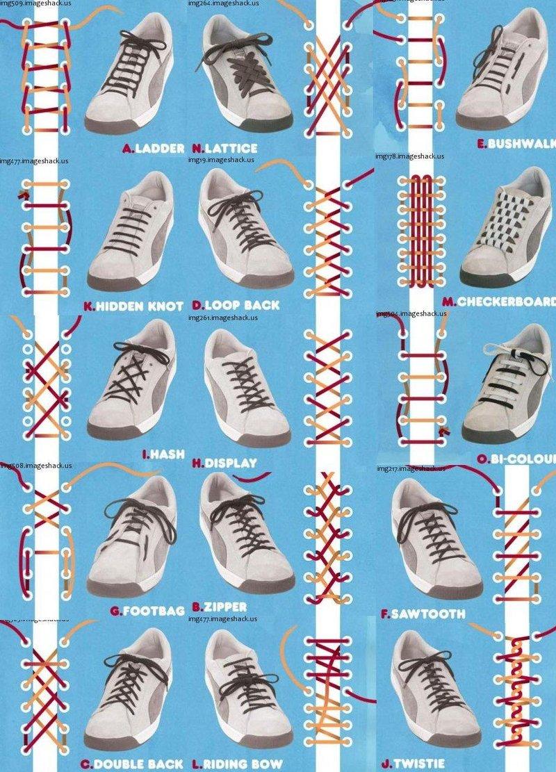 Schnürsenkel Richtig Einfädeln Schuhe Günstig Kaufen
